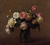 Bouquet of Roses, 1902, fantinlatour