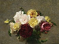 Bouquet of Roses, c.1879, fantinlatour
