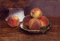 Bowl of Peaches, 1869, fantinlatour