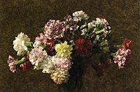 Carnations, c.1902, fantinlatour