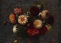 Chrysanthemums, 1877, fantinlatour