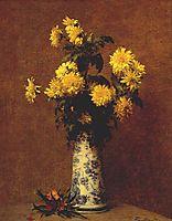 Chrysanthemums, 1879, fantinlatour