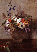 Diverse Flowers, 1864, fantinlatour