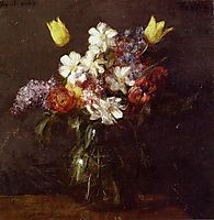 Flowers, 1863, fantinlatour