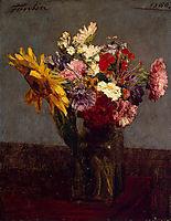 Flowers, 1860, fantinlatour