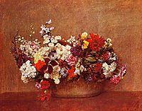 Flowers in a Bowl, 1886, fantinlatour