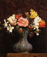 Flowers, Camelias and Tulips, 18, fantinlatour