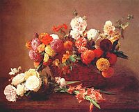 The Flowers of Middle Summer, 1890, fantinlatour