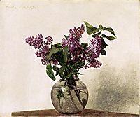 Lilacs, 1872, fantinlatour