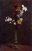 Narcisses Hyacinths and Nasturtiums, 1871, fantinlatour