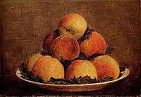 Peaches, 1869, fantinlatour