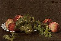 Peaches and Grapes, 1896, fantinlatour