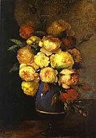 Peonies in a Vase, 1864, fantinlatour