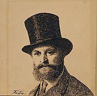 Portrait of Manet, 1867, fantinlatour