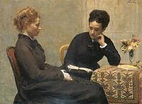 Reading, 1877, fantinlatour