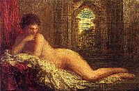Petite Orientale Couchee, Reclining Nude, 1904, fantinlatour