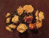 Roses, 1881, fantinlatour
