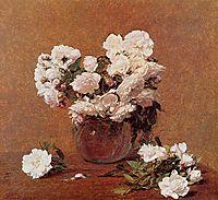 Roses, 1882, fantinlatour