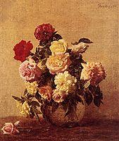 Roses, 1884, fantinlatour
