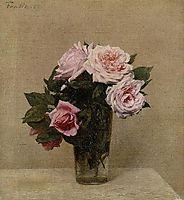 Roses, 1886, fantinlatour
