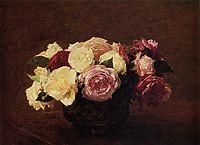 Roses, 1894, fantinlatour