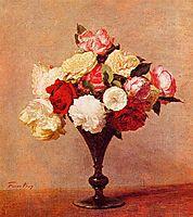 Roses in a Vase, 1888, fantinlatour