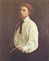 Self portrait, 1859, fantinlatour