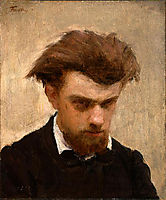 SelfPortrait, 1861, fantinlatour