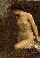 Small Brunette Bather, 1884, fantinlatour