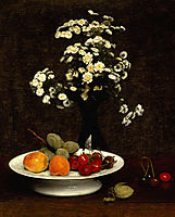 Still Life with Flowers, 1864, fantinlatour