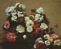 Still Life with Flowers, 1881, fantinlatour