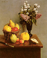 Still Life With Flowers And Fruit, 18, fantinlatour
