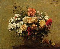 Summer Flowers, 1880, fantinlatour