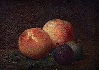 Two Peaches and Two Plums, 1899, fantinlatour