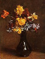 Vase of Flowers, 1872, fantinlatour