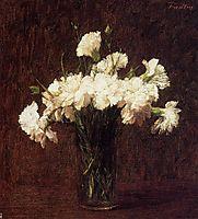 White Carnations, 1904, fantinlatour