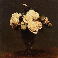 White Roses, 1873, fantinlatour