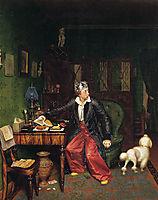The Aristocrat-s Breakfast, 1850, fedotov