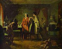 Fashionable Wife (Lioness), 1849, fedotov