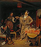 The fresh cavalier, 1846, fedotov