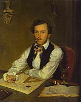 Portrait of an Architect , fedotov