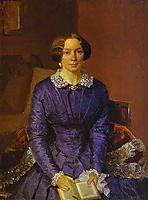 Portrait of Elizaveta Petrovna Zhdanova , fedotov