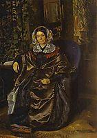 Portrait of Maria Pavlovna Druzhinina , fedotov