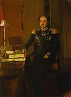 Portrait of P. P. Zhdanovich, 1847, fedotov