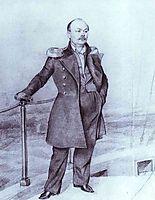 S. D. Shishmarev on  Board the Ship, 1849, fedotov