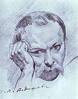 Self-Portrait, c.1840, fedotov