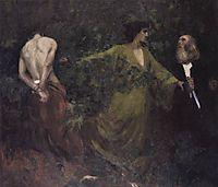 Abraham-s Sacrifice, 1901, ferenczy