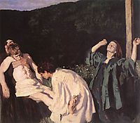 Deposition from the Cross, 1903, ferenczy