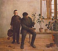 Gardeners, 1891, ferenczy