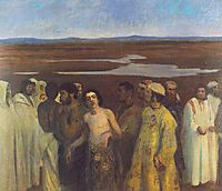 Joseph Sold into Slavery by His Brothers, 1900, ferenczy